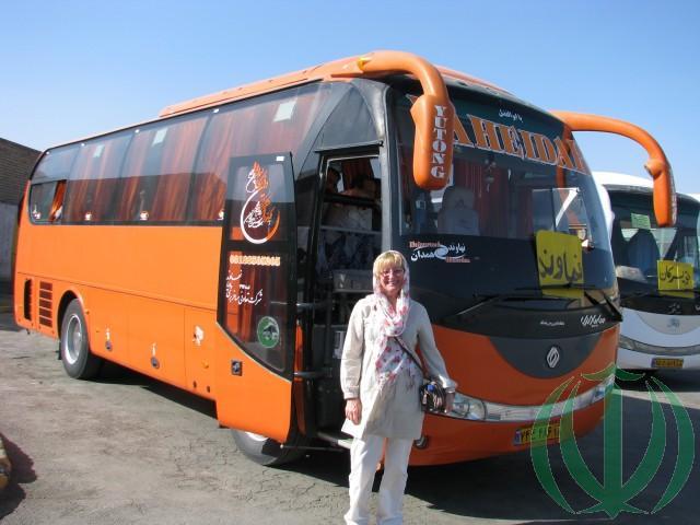 """""""Местный"""" автобус на Нахаванд. Ольга."""
