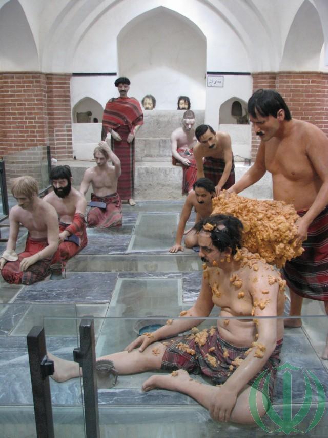 В музее-хамаме: так мылись.
