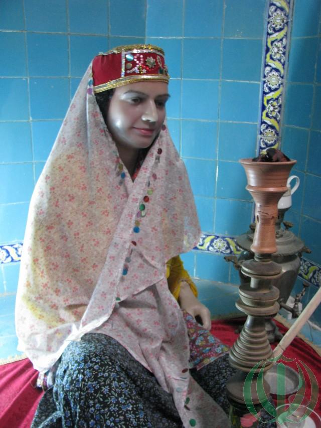 В музее-хамаме: невеста перед свадьбой.