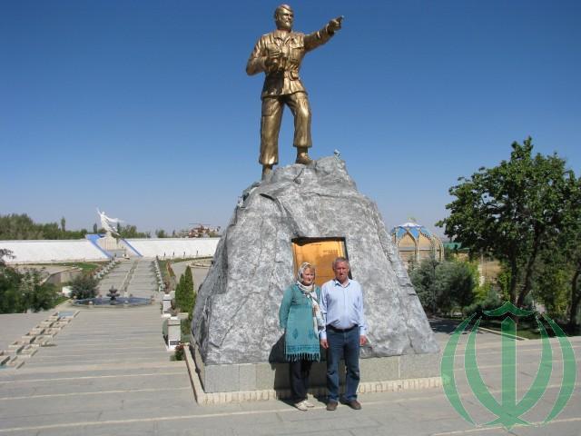 В Музее Священной войны в Хамадане