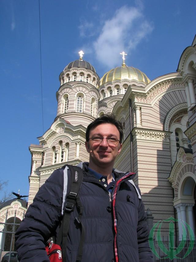 У Рижского Православного Кафедрального собора