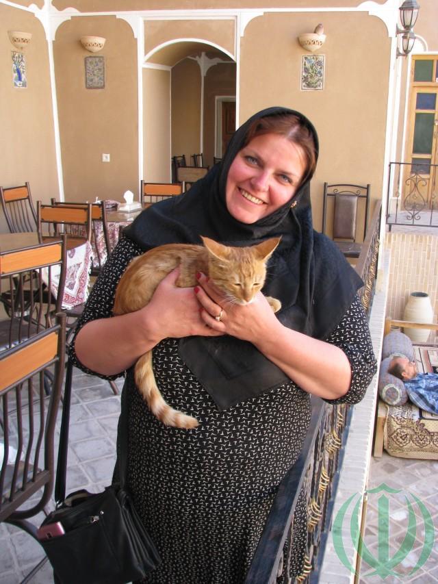 Добрая Эрика и Добрый кот