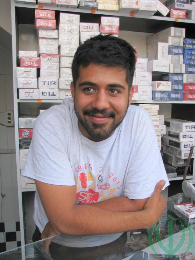 Торговец табаком Али Ахани