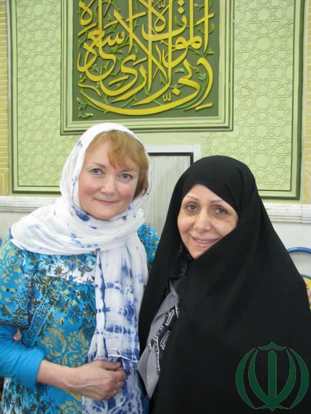 Бирджанд. Мансура Аяти, дочь аятоллы Мохаммада Хоссейна Аяти