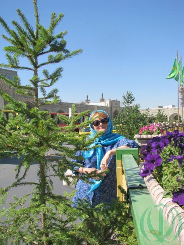 Машхад. У мавзолея Имама Резы