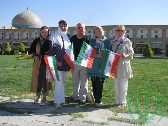 Исфахан. Площадь Имама Хомейни. Октябрь 2014 года. Друзья Ирана