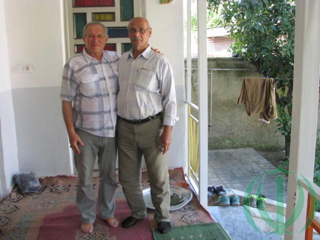 Автор (слева) и Госан
