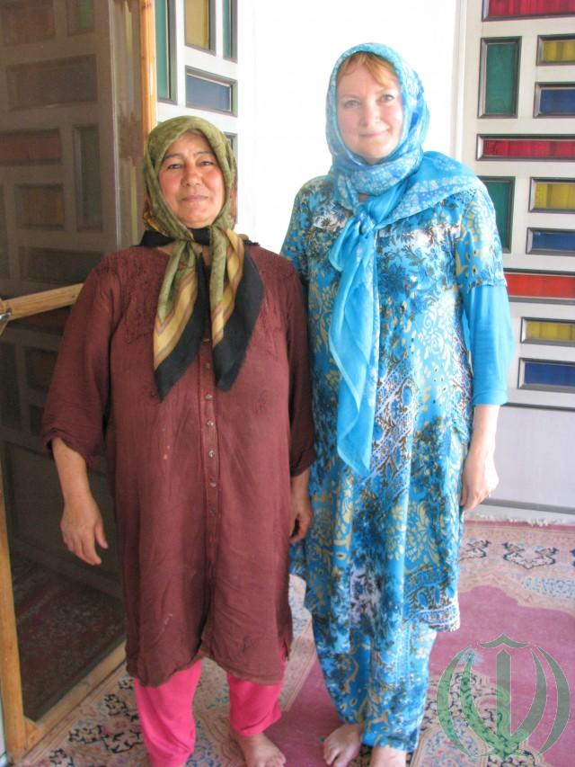 Корсум (слева) и Мария Пири