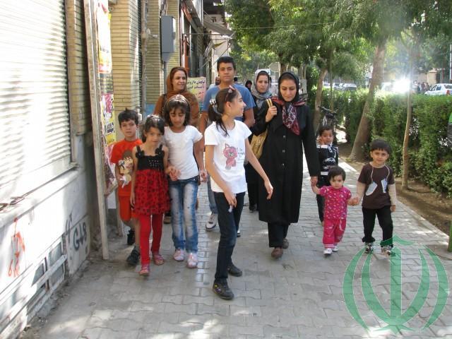 На улице Исфахана