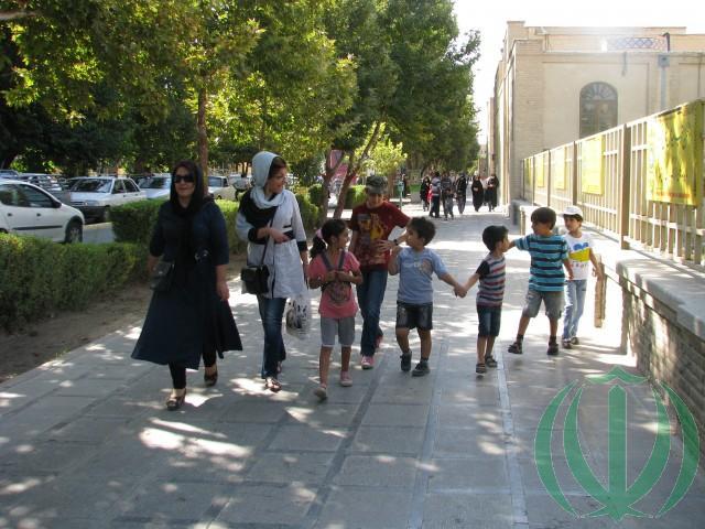 Наулице Исфахана