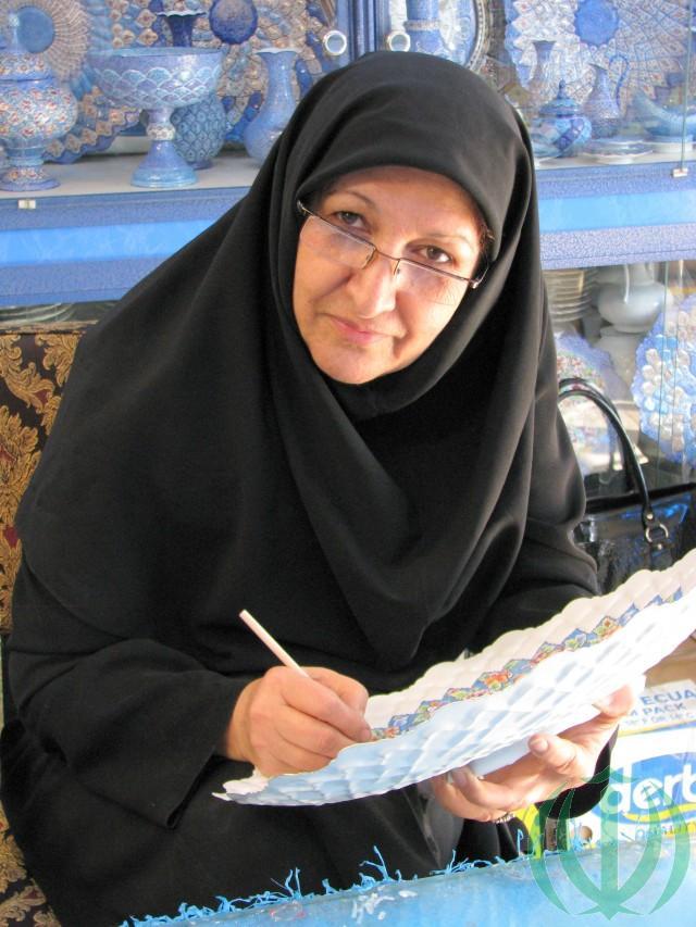 На Базаре Исфахана