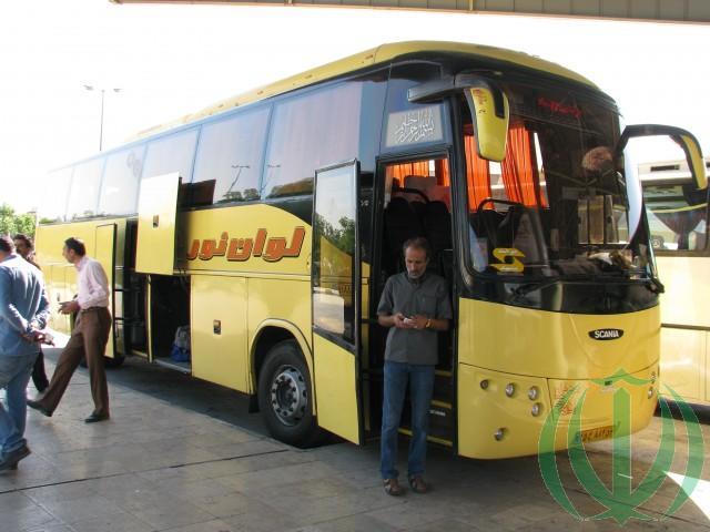 Иранский междугородний автобус