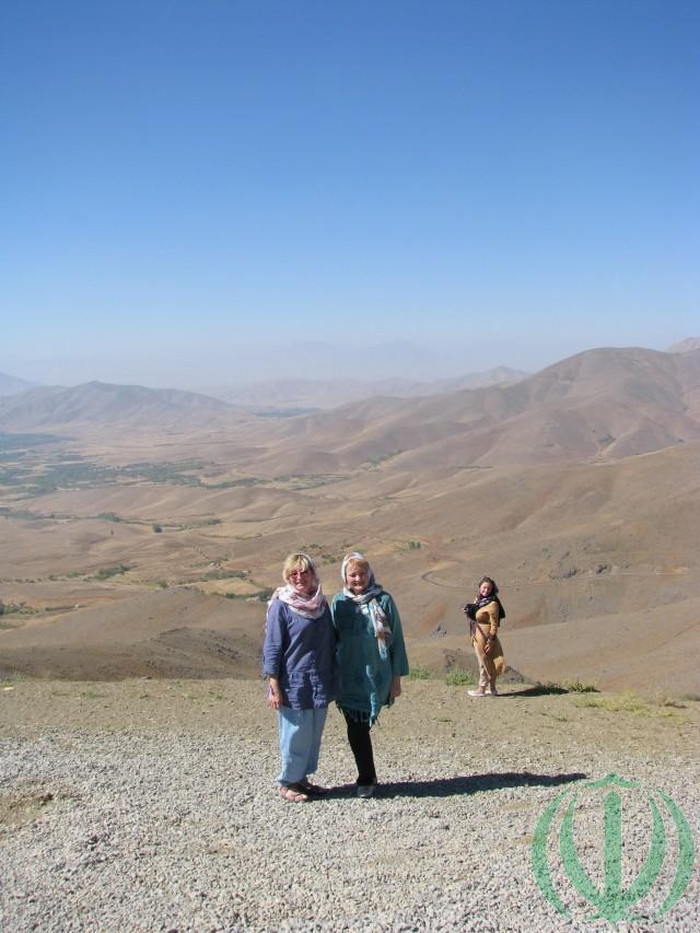 На перевале Гандж-наме.