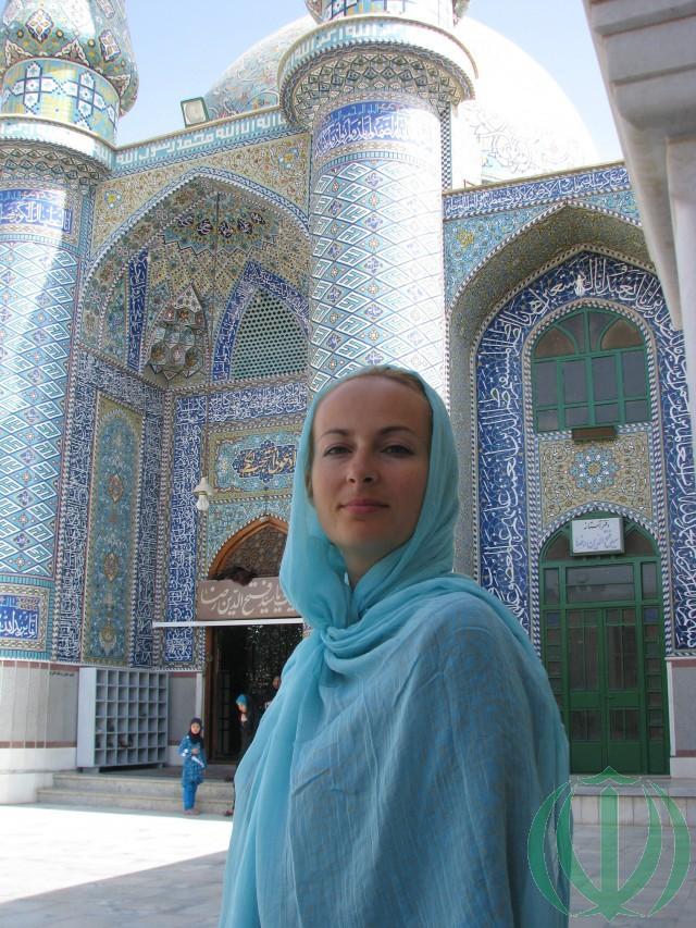 Зеркальная мечеть. Ольга
