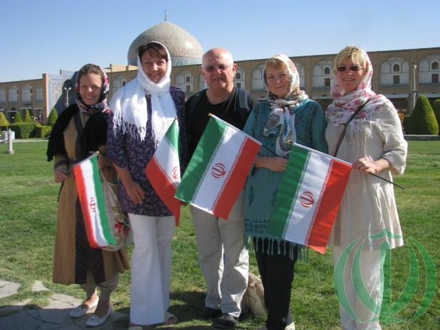 Латвийские гости в Иране. 2014 год.