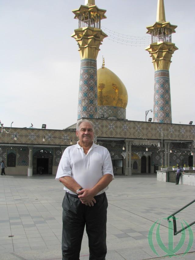 Латвийские Друзья Ирана в Соборной мечети