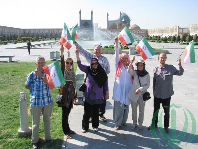 Латвийские гости в Иране. 2015 год.