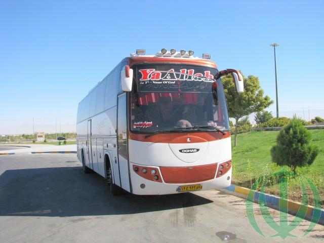 Вот такие в Иране автобусы