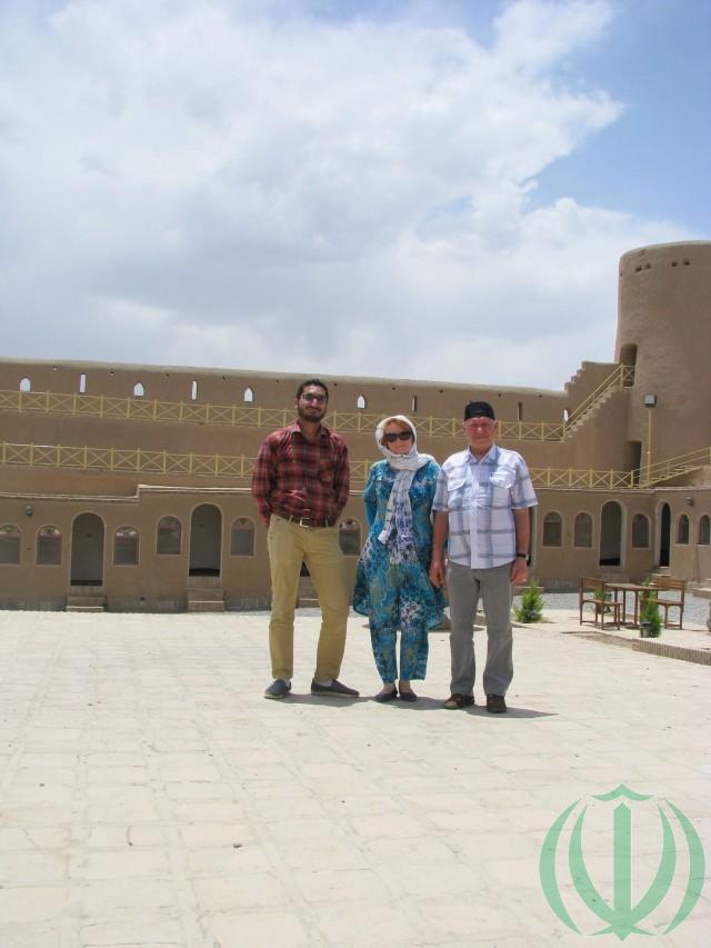 Саед Али, Мария Пири и автор