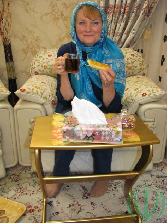 Мария и чай перед ужином
